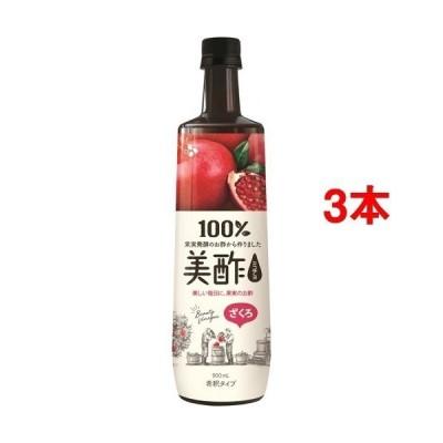 美酢(ミチョ) ざくろ ( 900ml*3本セット )/ 美酢(ミチョ)