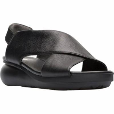 カンペール Camper レディース サンダル・ミュール シューズ・靴 Balloon Slingback Sandal Black Leather
