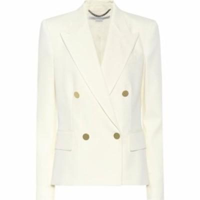 ステラ マッカートニー Stella McCartney レディース スーツ・ジャケット アウター Emery wool blazer Cream
