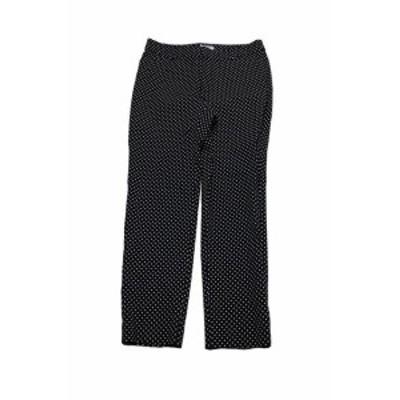 ファッション パンツ Charter Club Estampado Azul Marino Tummy-Control Polka-Dots Tobillo Pantalones 6