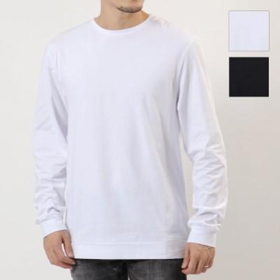 MOSCHINO UNDERWEAR モスキーノ アンダーウェア 1801 8119 カラー2色 長袖 Tシャツ ロンT カットソー クルーネック コットン メンズ