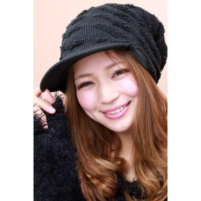 ニット帽 帽子 メンズ レディース ニットキャップ キャスケット スノーボードに最適 ブラック