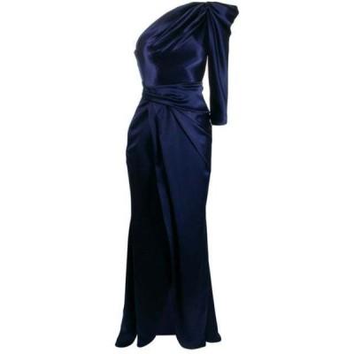 タルボット ワンピース イブニングドレス レディース Talbot Runhof Bodil dress Blue