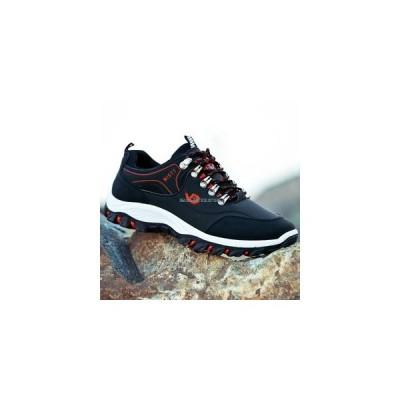 スポーツシューズ メンズ ランニング フィットネス トレッキング 運動靴 カジュアル ウォーキング ローカット 滑り止め スニーカー 3色