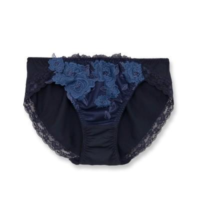 フランデランジェリー fran de lingerie GRACE Grande グレースグランデ コーディネートショーツ【返品不可商品】 (ネイビー)