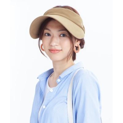 帽子屋ONSPOTZ / イロドリ レディース SC_VISOR サンバイザー WOMEN 帽子 > サンバイザー
