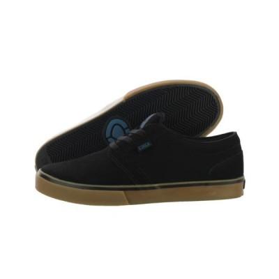 サーカアスレチック シューズ 靴Circa Hesh HESH-BKSP ブラック Seaport スエード スケボー シューズ ミディアム (D M) メンズ