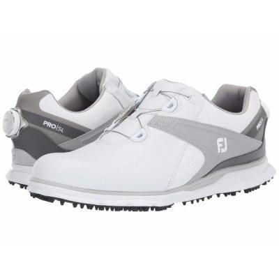 フットジョイ スニーカー シューズ メンズ Pro SL White/Grey 1