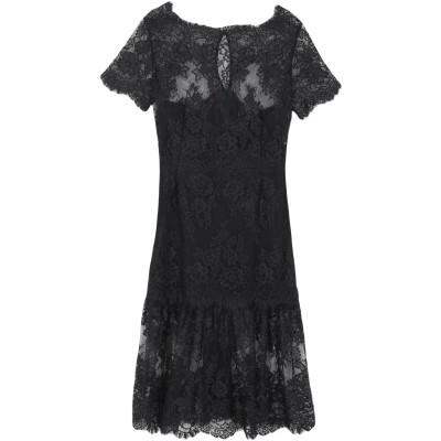 HANITA 7分丈ワンピース・ドレス ブラック M ナイロン 100% 7分丈ワンピース・ドレス