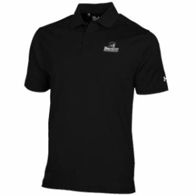 Under Armour アンダー アーマー スポーツ用品  Under Armour Providence Friars Black Solid Performance Polo