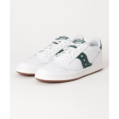 スニーカー JAZZ COURT S70555-8 WHITE/GREEN