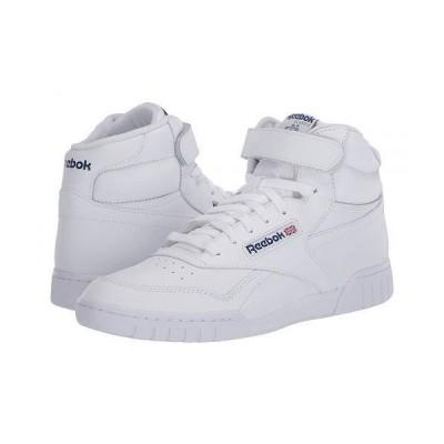 Reebok Lifestyle リーボック メンズ 男性用 シューズ 靴 スニーカー 運動靴 Ex-O Fit Hi High Top - Int/White