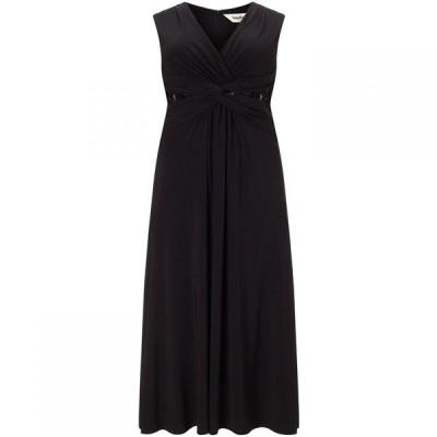 スタジオ8 Studio 8 レディース ワンピース ワンピース・ドレス Plus Size Sophie twist lace maxi dress Black
