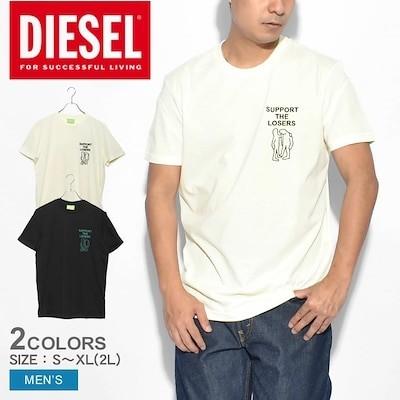 ディーゼル DIESEL 半袖Tシャツ T-DORYMO-A1 T-SHIRT A01851 0GRAM メンズ ウエア トップス ブランド クルーネック シンプル ロゴ カジュアル アメカジ 無地