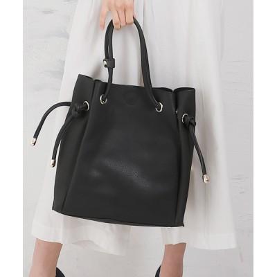 BASE / インバッグ付きショルダー結びデザイントートバッグ WOMEN バッグ > トートバッグ