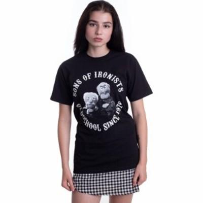 インペリコン Impericon レディース Tシャツ トップス - Waldorf and Statler Sons Of Ironists - T-Shirt black