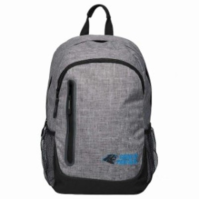 Forever Collectibles フォーエバー コレクティブル スポーツ用品  Carolina Panthers Heathered Gray Backpack