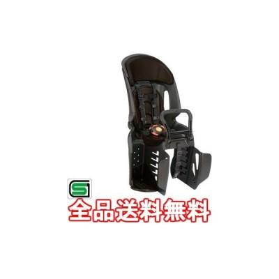 RBC-011DX3 ヘッドレスト付コンフォートうしろ子供のせ (ブラック・こげ茶) 210-01187【返品不可】