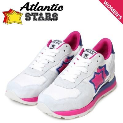 Atlantic STARS レディース スニーカー アトランティックスターズ ベガ VEGA GBF-62B オリジナルソール 靴 グレー