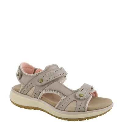 エスエーエス レディース サンダル シューズ Embark Leather Heel Strap Sport Sandals Taupe