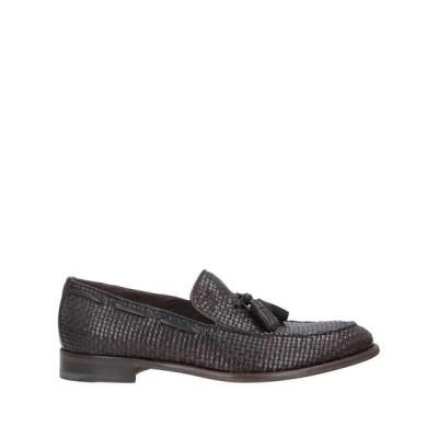 J.WILTON モカシン ファッション  メンズファッション  メンズシューズ、紳士靴  モカシン ダークブラウン