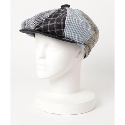 帽子 キャスケット スコール SQUALL / CAPAS 8/4 LINEN PATCH