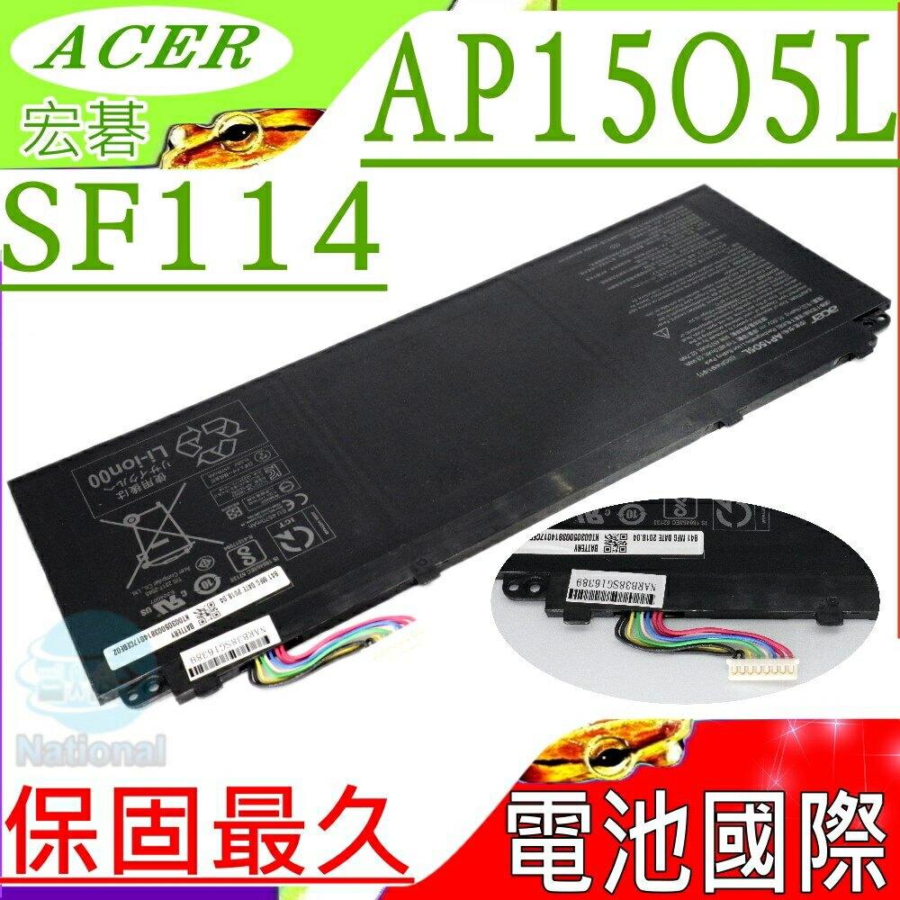 ACER AP15O5L 電池(原廠)-宏碁 AP15O5L,SWIFT 5 ,SF514 電池,SF514-51-50YK,F514-51-53EJ,SF114-32,N17W6,SF114,SF5