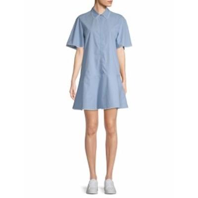 ポール& ジョーシスター レディース ワンピース Lace-Trimmed Shirtdress