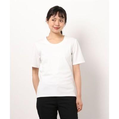 tシャツ Tシャツ *エムエフエディトリアルレディース/m.f.editorial:Women  【DRESS T-SHIRT】抗菌防臭ストレッチ V