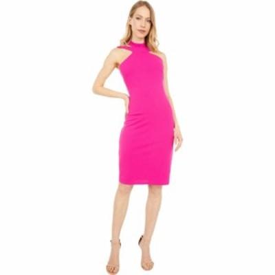 ベベ Bebe レディース ボディコンドレス ワンピース・ドレス Bodycon Halter Dress Fuchsia