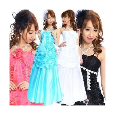 ギャザーバルーン姫ドレス