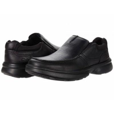 Clarks クラークス メンズ 男性用 シューズ 靴 ローファー Bradley Free Black Tumbled Leather【送料無料】