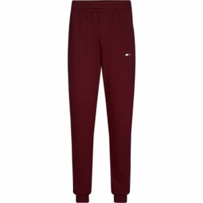 トミーヒルフィガー Tommy Sport メンズ ランニング・ウォーキング ボトムス・パンツ Fleece Cuff Jogging Pants VLP Deep Rouge