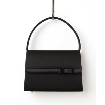 form forma / リボン付きブラックフォーマルバッグ WOMEN バッグ > ハンドバッグ