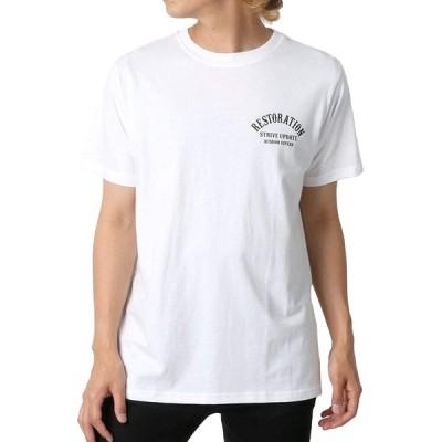 [ボーメール] Tシャツ ロゴ 半袖 メンズ 柄3 L