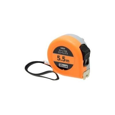 M&M ストップ付コンベ 25mm幅 5.5m オレンジ H77×W72×D43(mm) 0