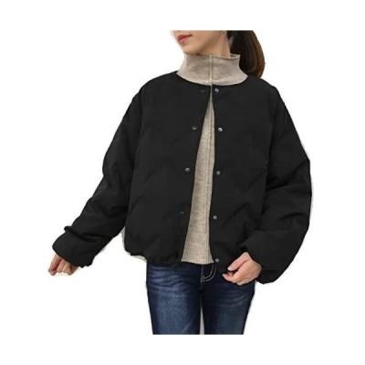 ドナ・マリー(DONA-MARIE)2019Winter ダウン90% Realに暖かくて Realに軽い ゆったり 格子柄 シームレス R