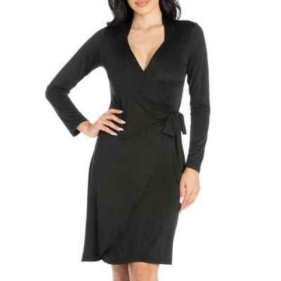 24セブンコンフォート レディース ワンピース トップス Women's Mini Wrap Dress