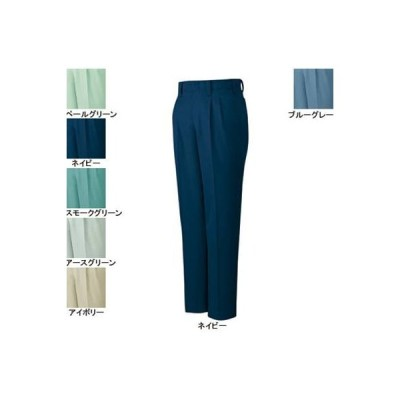 作業服 作業着 秋冬用 ズボン 自重堂 6710 製品制電ストレッチツータックパンツ 82・ネイビー011
