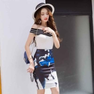 【Sサイズ~5XLサイズ】【1枚でインパクト◎】フラワープリントストレッチミニスカート