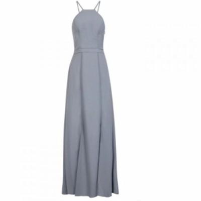 チチ Chi Chi レディース パーティードレス マキシ丈 ワンピース・ドレス Lace Back Maxi Dress Blue