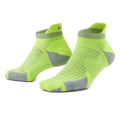 ナイキ 靴下 メンズ レディース スパーク クッション ノーショー ソックス NIKE CU7201 イエロー 黄 ウエア ブランド カジュアル 父の日 702