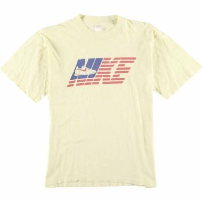70s ナイキ NIKE オレンジタグ Tシャツ イタリア製 M /eaa068886