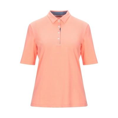 LA FILERIA ポロシャツ コーラル 42 コットン 93% / ポリウレタン 7% ポロシャツ