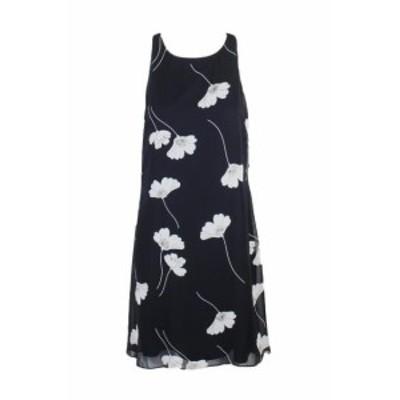 Americain  ファッション ドレス Americain Living Marine Blanc Floral Robe Dos Nu 16
