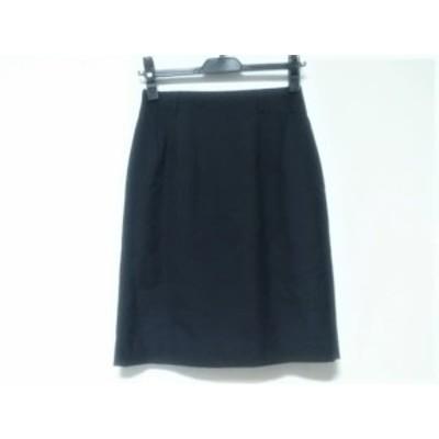 ニューヨーカー NEW YORKER スカート サイズ63-90 レディース 黒【還元祭対象】【中古】