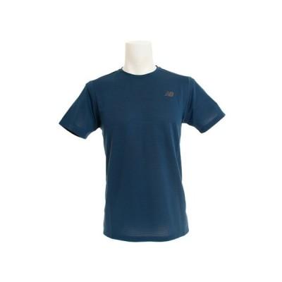 ニューバランス(new balance) サッカー スポーツウェアマックスインテンシティ S/S Tシャツ AMT81047NOS 半袖 オンライン価格 (メンズ)