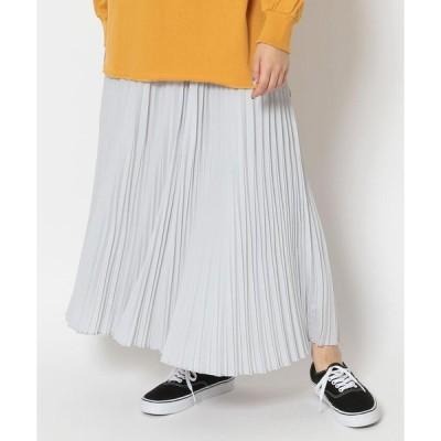 【ビーセカンド】DROIT BELLO(ドロイトベロ)ランダムプリーツロングスカート