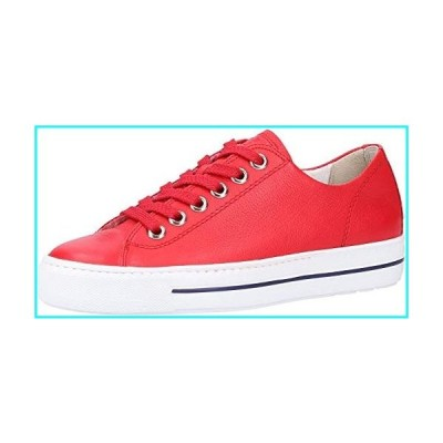 Paul Green Ally Sneaker (7.5, Red Leather)
