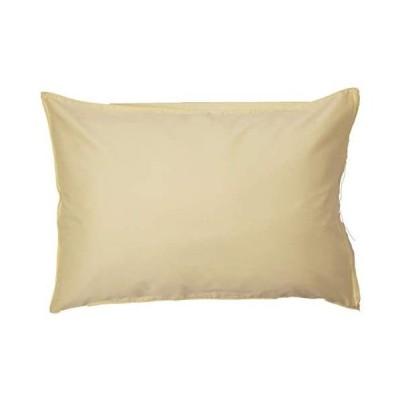 枕カバー 43x63cm枕用 超長綿ピロケース 日本製 80サテン 綿100% Noble(ノーブル) (ゴールドベージュ)